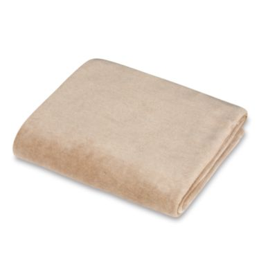 Natural Organic Cotton Velour Cradle Sheet, 100% Organic Cotton in Mocha
