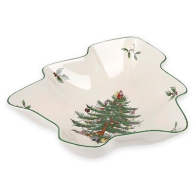 Spode® Christmas Tree 8-Inch Tree-Shaped Dish