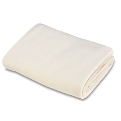 TL Care Organic Cotton Velour Bassinet Sheet in Natural