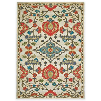 Feizy Girasole 5-Foot x 8-Foot Area Rug in Sunset