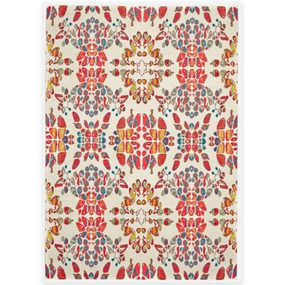 Feizy Girasole 2-Foot 4-Inch x 4-Foot Accent Rug in Melon