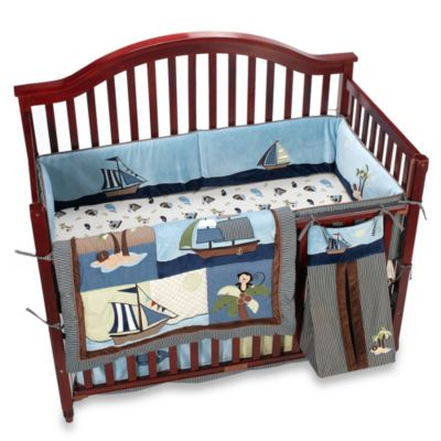 NoJo® Ahoy Mate 6-Piece Crib Bedding Set