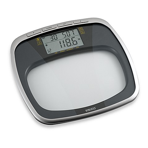 HoMedics® Glass Body Fat Scale Health Station™