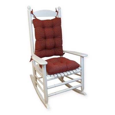 Klear Vu Gripper® Saturn Rocking Chair Pad Set in Red