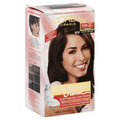 L'Oréal® Paris Excellence® Creme Triple Protection Hair Color in 5AB Mocha Ash Brown