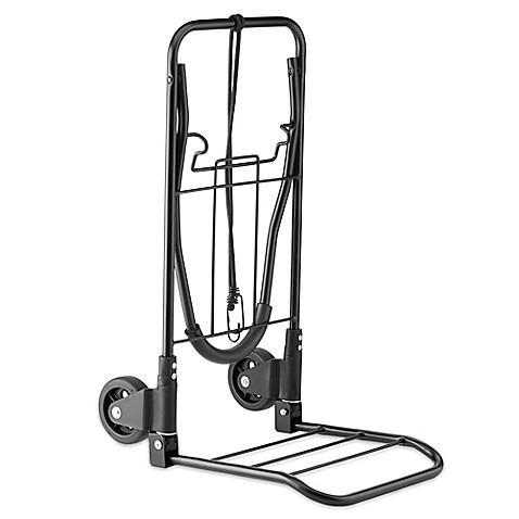 Conair 174 Travel Smart 174 Flat Folding Multi Use Luggage Cart In Black Bed Bath Amp Beyond