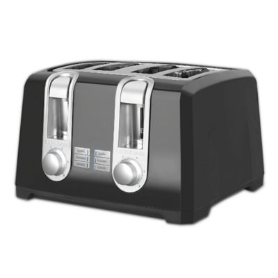 Buy Toastmaster 2 Slice Cool Touch Toaster In Black From Bed Bath Beyond