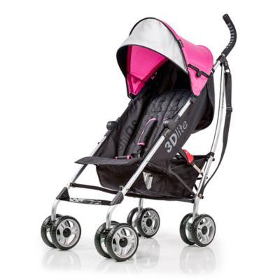 Summer Infant® 3D lite™ Convenience Stroller in Hibiscus Pink