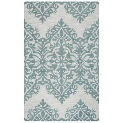 Rizzy Home Lunnica Medallion 8-Foot x 10-Foot Area Rug in Green/Grey