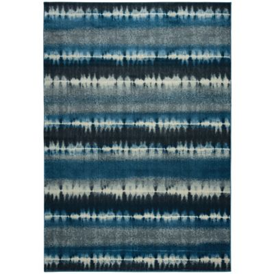 Rizzy Home Sorrento 3-Foot 3-Inch x 5-Foot 3-Inch Area Rug in Navy