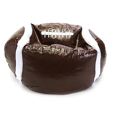 Sports Football Bean Bag Chair In Brown Bed Bath Beyond