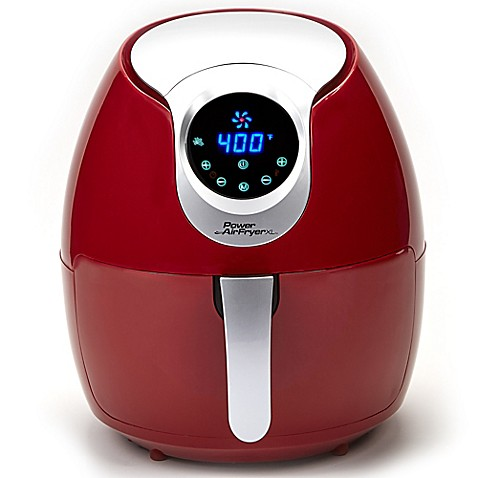 Buy Power Air Fryer Xl In Red From Bed Bath Amp Beyond