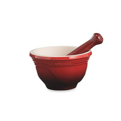 Le Creuset® 10-Ounce Stoneware Mortar and Pestle