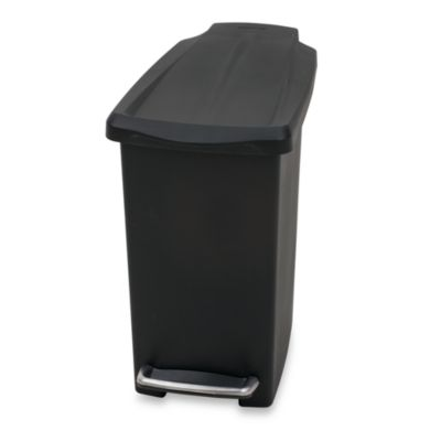 Black Bathroom Trash Cans