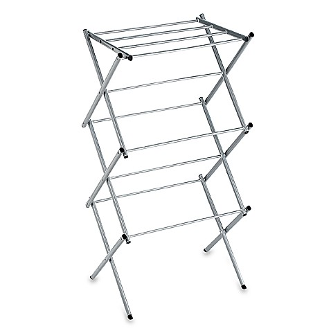 Polder® Compact Accordion Clothes Drying Rack in Drizzle