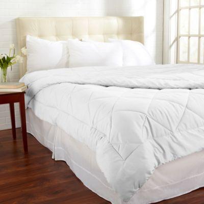 Santino Down Alternative Twin Comforter in White