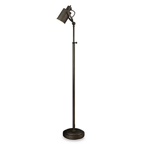Bronze photographer39s floor lamp bed bath beyond for Photographer s tripod floor lamp bronze finish