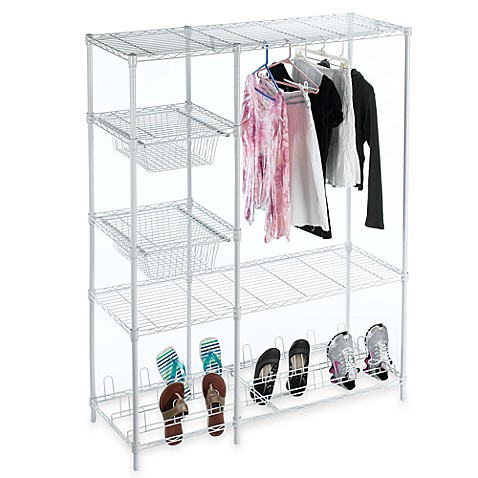 portable closet system bed bath beyond