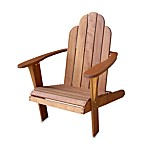 Teak-Look Adirondack Chair