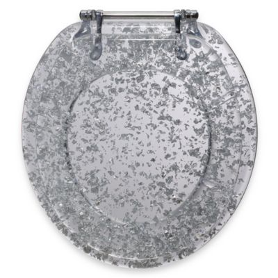 Silver Toilet Seats & Accessories