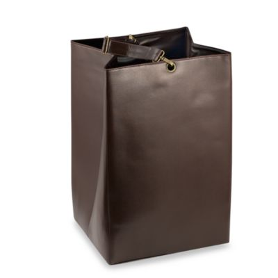Faux Leather Dry Cleaning Tote