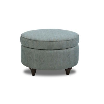 Klaussner® Orion Storage Ottoman in Teal