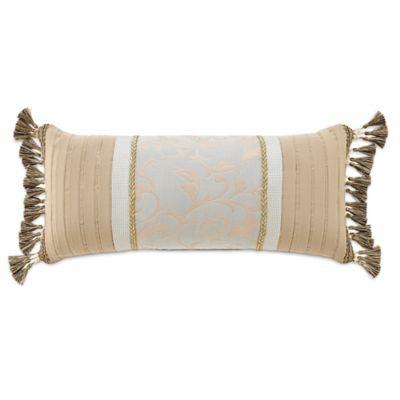 Croscill® Lorraine Boudoir Throw Pillow in Gold