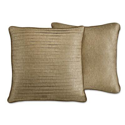 Croscill® Bradney Reversible European Pillow Sham in Gold