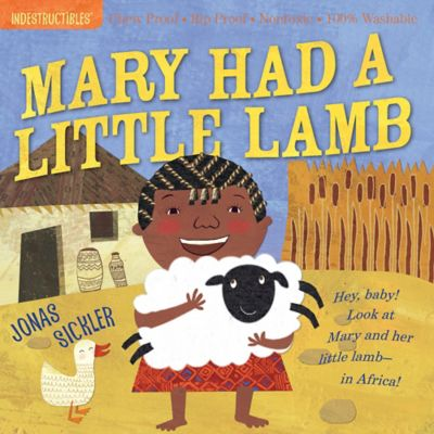"""Indestructibles """"Mary Had a Little Lamb"""" Book by Jonas Sickler"""