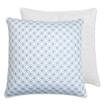 Croscill® Cape May European Pillow Sham in White