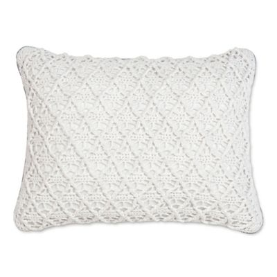Croscill® Cape May Boudoir Throw Pillow in White
