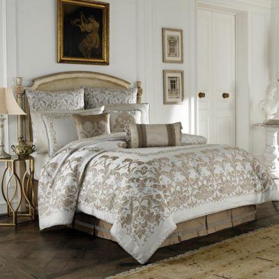 Croscill® Monroe King Comforter Set in Ivory