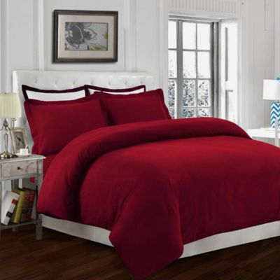 Blue Red Duvet Cover Bedding