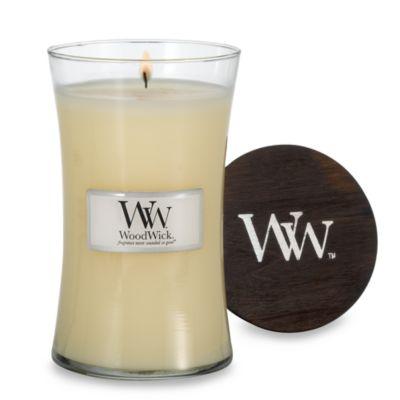 WoodWick™ Linen 22-Ounce Jar Candle