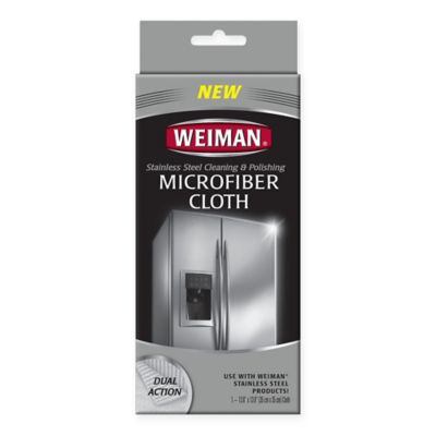 Weiman® Microfiber Stainless Steel Cleaning Cloth