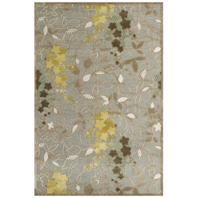 Feizy Marin 2-Foot 2-Inch x 4-Foot Accent Rug in Pewter/Sage