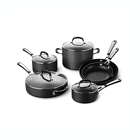 Simply Calphalon® Nonstick 10-Piece Cookware Set and Open Stock