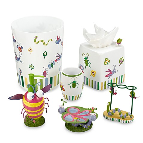 Bugs & Leaves Toothbrush Holder