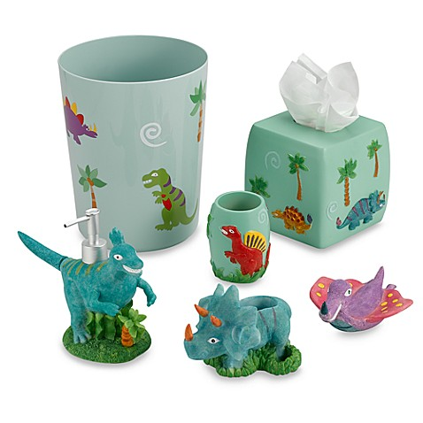 Dinosaur Friends Waste Basket