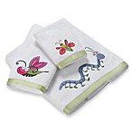 Bugs & Leaves Washcloth