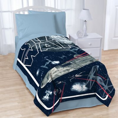 Buy Star Wars Space Battle Twin Full Comforter From Bed