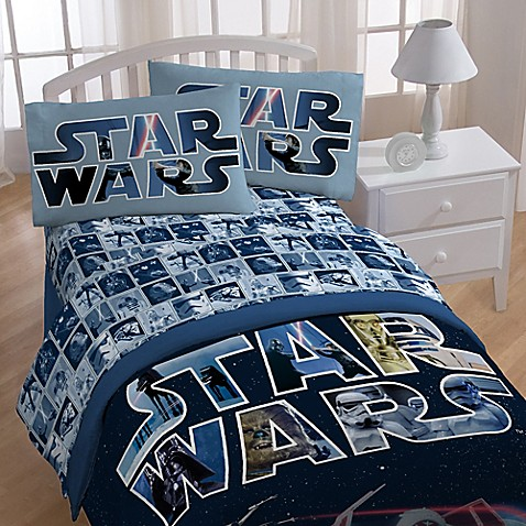 Star Wars Space Battle Sheet Set Bed Bath Amp Beyond