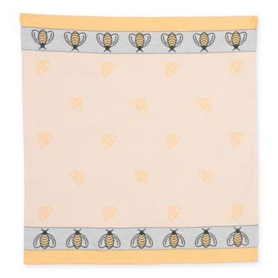 Mierco Collection Bumblebee Tea Towel in Yellow