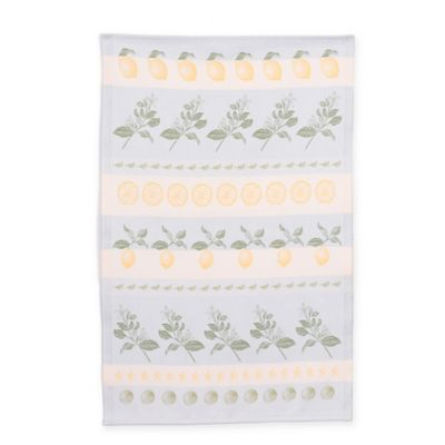 Mierco Collection Lemons Tea Towel in Yellow