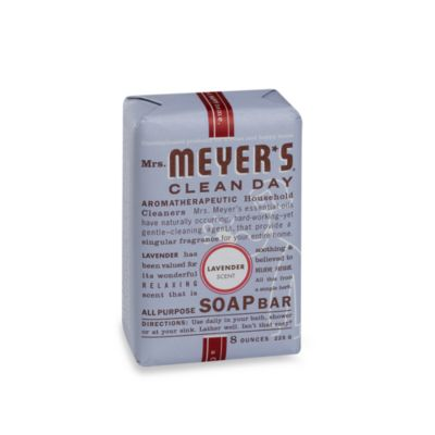 Mrs. Meyer's® Clean Day Aromatherapeutic Lavender 8-Ounce Bar Soap