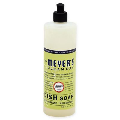 Mrs. Meyer's® Clean Day Therapeutic Lemon Verbena 16-Ounce Liquid Dish Soap