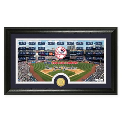 "MLB New York Yankees ""Traditions"" Bronze Coin Panoramic Photo Mint"