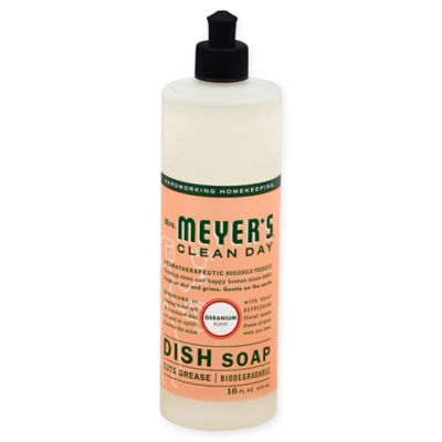 Mrs. Meyer's® Clean Day Aromatherapeutic Geranium 16-Ounce Liquid Dish Soap