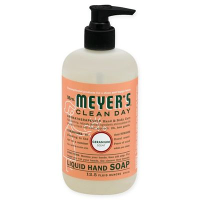 Mrs. Meyer's® Clean Day Aromatherapeutic Geranium 12.5-Ounce Liquid Hand Soap