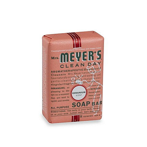 Mrs. Meyer's® Clean Day Aromatherapeutic Geranium 8-Ounce Bar Soap